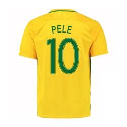 2016-17 Brazil Home Shirt (Pele 10) - Kids