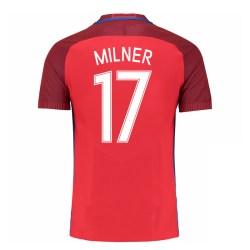 2016-17 England Away Shirt (Milner 17) - Kids