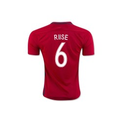 2016-17 Norway Home Shirt (Riise 6) - Kids