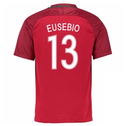 2016-17 Portugal Home Shirt (Eusebio 13) - Kids