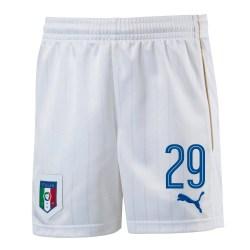 2016-17 Italy Home Shorts  (29) - Kids
