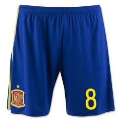 2016-17 Spain Home Shorts (8)