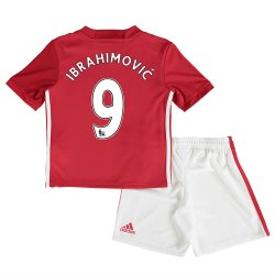 2016-17 Man United Home Mini Kit (Ibrahimovic 9)