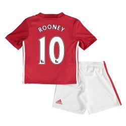 2016-17 Man United Home Baby Kit (Rooney 10)