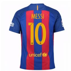 2016-17 Barcelona Home Shirt (Messi 10) - Kids