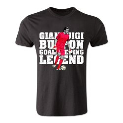 Gianluigi Buffon Goalkeeping Legend T-Shirt (Black)