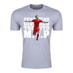 Sebastian Giovinco Toronto M.V.P T-Shirt (Grey) - Kids