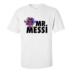 Lionel Messi Mr Messi T-Shirt (White)