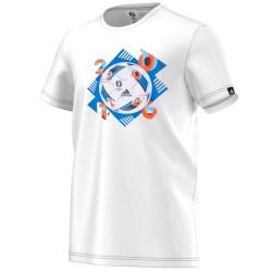 Adidas Euro 2016 Ball Tee (White)