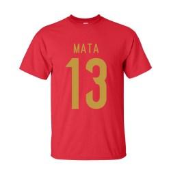Juan Mata Spain Hero T-shirt (red)