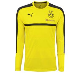 2016-2017 Borussia Dortmund Puma Long Sleeve Training Shirt (Yellow)