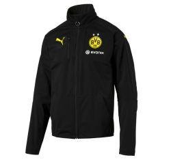 2016-2017 Borussia Dortmund Puma Softshell Training Jacket (Black)