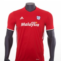 2016-2017 Cardiff City Adidas Away Football Shirt