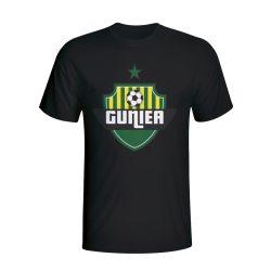 Guinea Country Logo T-shirt (black)