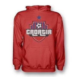 Croatia Country Logo Hoody (red)