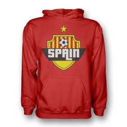 Spain Country Logo Hoody (red)