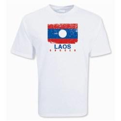 Laos Soccer T-shirt
