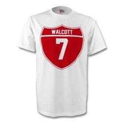 Theo Walcott England Crest Tee (white) - Kids