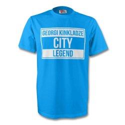 Georgi Kinkladze Man City Legend Tee (sky Blue)