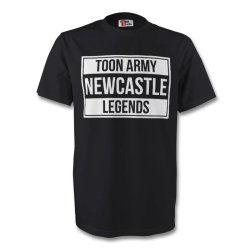 Toon Army Newcastle Legend Tee (black) - Kids