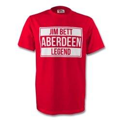 Jim Bett Aberdeen Legend Tee (red)