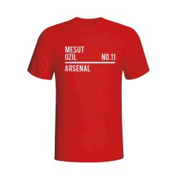 Mesut Ozil Arsenal Squad T-shirt (red) - Kids