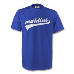 Paolo Maldini Italy Signature Tee (blue)