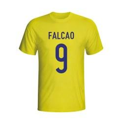 Radamel Falcao Colombia Hero T-shirt (yellow) - Kids