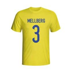 Olof Mellberg Sweden Hero T-shirt (yellow) - Kids