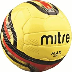 Mitre Max Fluo Professional Match Ball (yellow)