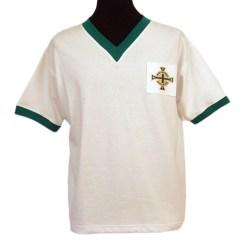 NORTHERN IRELAND 1960S AWAY Retro Football Shirts