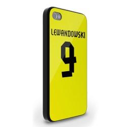 Robert Lewandowski Dortmund Iphone 4 Cover (yellow)