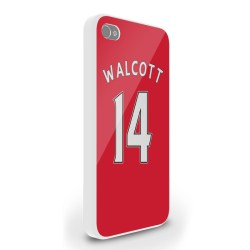 Theo Walcott Arsenal Iphone 4 Cover (red)