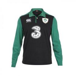 2015-2016 Ireland Alternate Classic LS Rugby Shirt