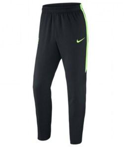 2015-2016 Man City Nike Woven Pants (Black-Green)