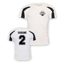 Raphael Varane Real Madrid Sports Training Jersey (white)