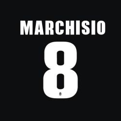 2013-14 Andrea Pirlo Juventus Home Shirt Printing