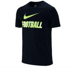 Nike Swoosh Football Tee (Black)