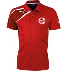 United Football Academy Spirit Polo Shirt (Red)