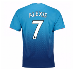 2017-2018 Arsenal Away Shirt (Alexis 7) - Kids