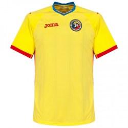 2016-2017 Romania Home Joma Football Shirt (Kids)