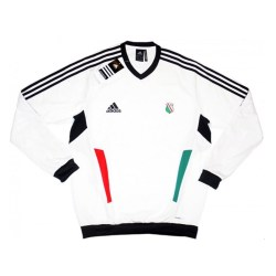 2011-12 Legia Warsaw Adidas Training Sweat Top (White)