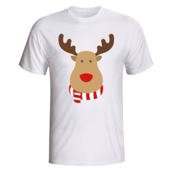 Rangers Rudolph Supporters T-shirt (white) - Kids