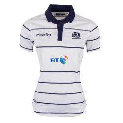 2016-2017 Scotland Macron Alternate Womens Poly Rugby Shirt