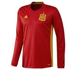 2016-2017 Spain Home Adidas Long Sleeve Shirt