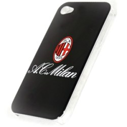 Ac Milan Black Iphone 4-4s Phone Case