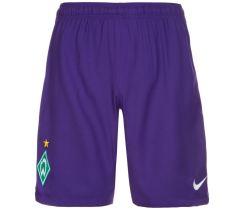 2016-2017 Werder Bremen Nike Away Shorts (Purple)