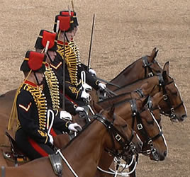 Trooping The Colour Color Queens Birthday Parade In London