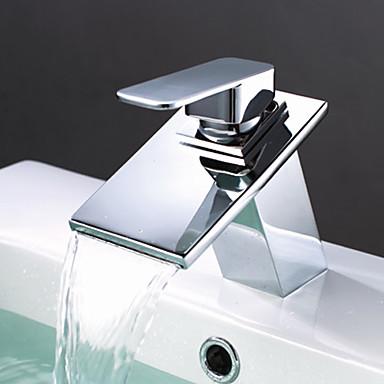 Brass Waterfall Bathroom Sink Tap T0818BR T0818BR 5999