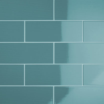 brick effect kitchen wall tiles wine decor johnson vvd8a vivid teal gloss ceramic tile ...